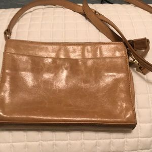 Hobo Crossbody leather neutral